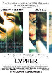 ;Cypher, 2002  movie poster;