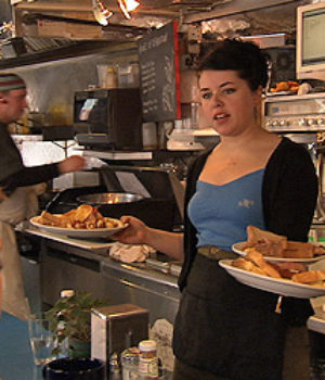 Dish: Women, Waitressing & the Art of Service, movie, still,
