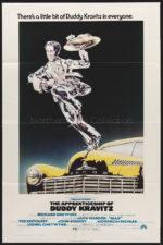 he Apprenticeship of Duddy Kravitz, movie poster