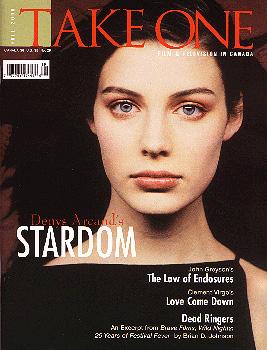 Take One Magazine cover