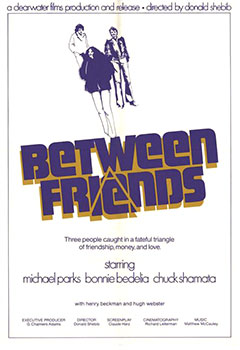 ;Between Friends, 1973 movie poster;