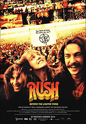 ;Rush: Beyond the Lighted Stage, movie poster;