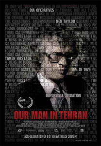 ;Our Man in Tehran, movie poster;