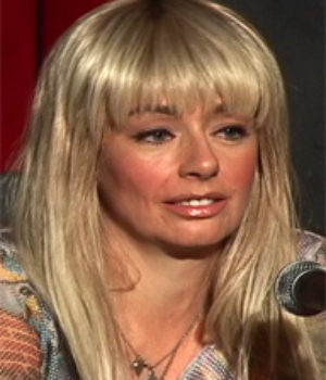 Lucy DeCoutere, actress,