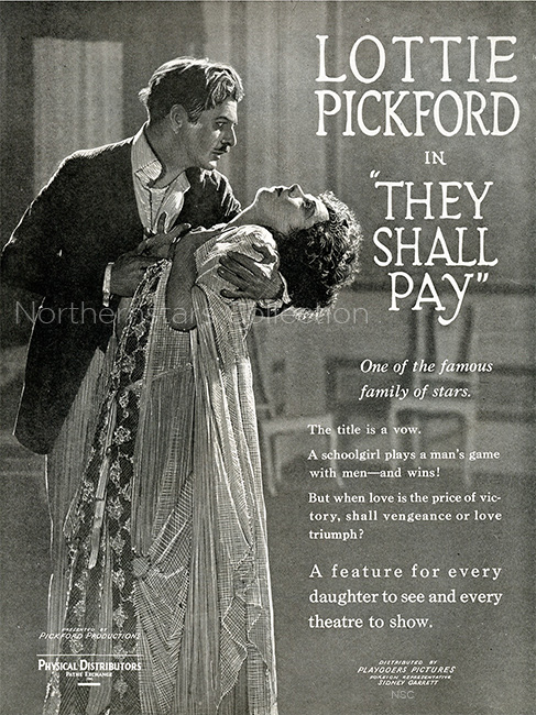 They Shall Pay, movie advertisement