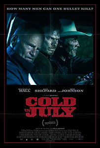 ;Cold in July, movie poster;