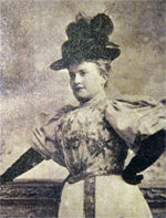 May Irwin, actress,