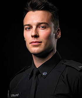 Peter Mooney, actor, Rookie Blue,