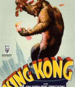 Fay Wray, King Kong, movie, poster,