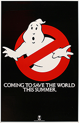 Ghostbusters, movie poster,