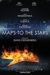 ;Maps to the Stars, 2014 movie poster;