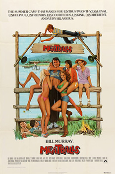 Meatballs, movie, poster,