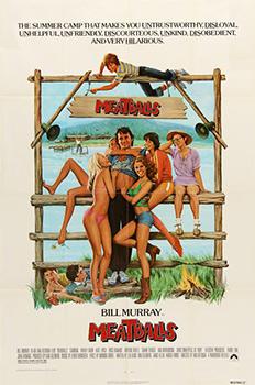 Meatballs, movie, poster,