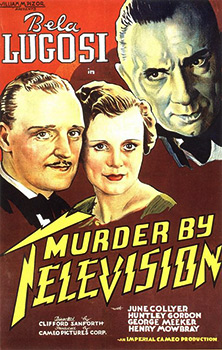 Murder by Television, movie, poster,