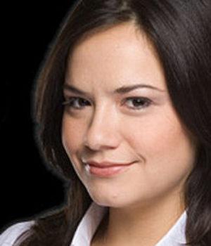 Sarah Podemski, actress,