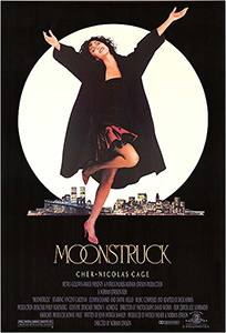Poster for the Norman Jewison film, Moonstruck