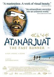 Atanarjuat, The Fast Runner, movie, poster,