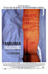 Les invasions barbares, movie poster