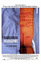 Les invasions barbares, movie poster
