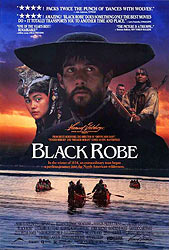 Black Robe, movie poster