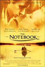 ;The Notebook, movie poster;