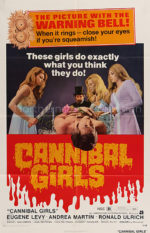 Cannibal Girls, movie poster
