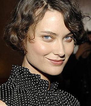 Shalom Harlow, actress,