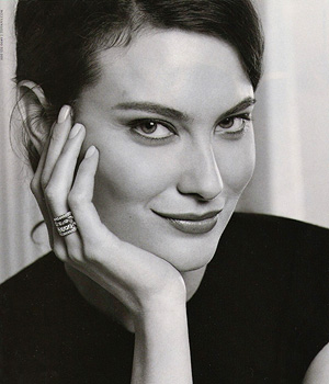 Shalom Harlow, actress, model,