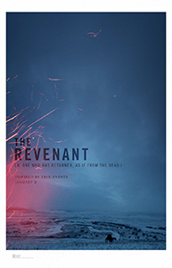 Poster for The Revenant courtesy of 20th Century Fox