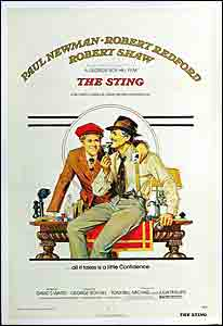 The Sting, movie, poster,