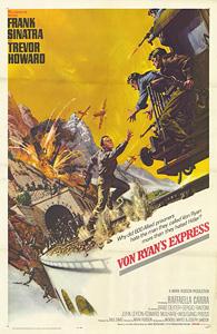 Von Ryan's Express, movie, poster,