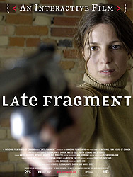 Poster for the 2007 movie Late Fragment courtesy of Mongrel media
