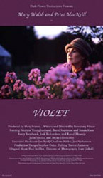 Violet, movie, poster,