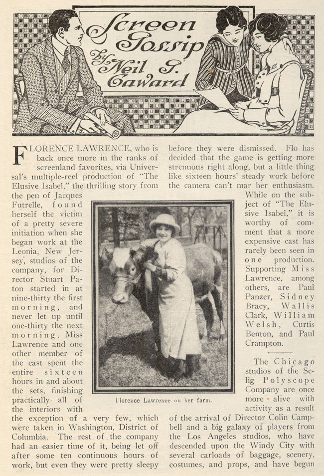 ;Screen Gossip, April 1916 - Northernstars Collection;