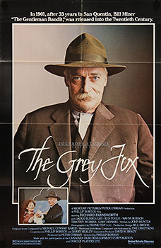 The Grey Fox, movie poster