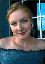 Kristin Adams, actress,