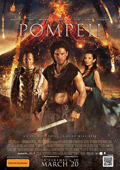 Pompeii, movie, poster,