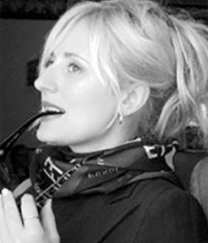 Rebecca Brock, actress,