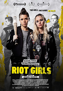 Riot Girls, movie, poster,