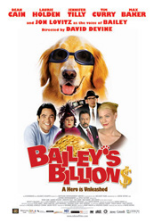 Bailey's Billion$, movie poster