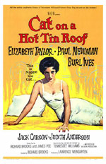 ;Cat on a Hot Tin Roof, movie poster;