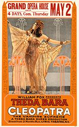 Cleopatra, movie poster