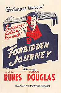 ;Forbidden Journey, 1950 Northernstars Collection movie poster;
