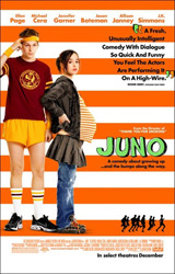 Poster for the 2007 movie, Juno