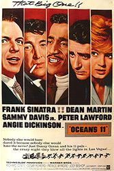 Oceans Eleven, movie, poster,