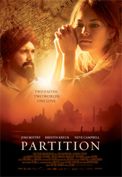 Poster for the 2007 movie Partition courtesy of Seville Pictures