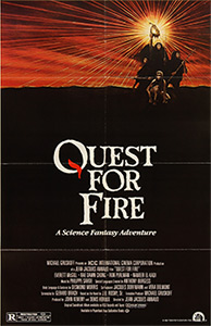 Quest for Fire, movie poster