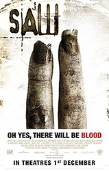 ; Saw II, movie poster;