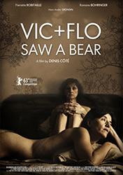 Vic + Flo Saw a Bear, movie poster