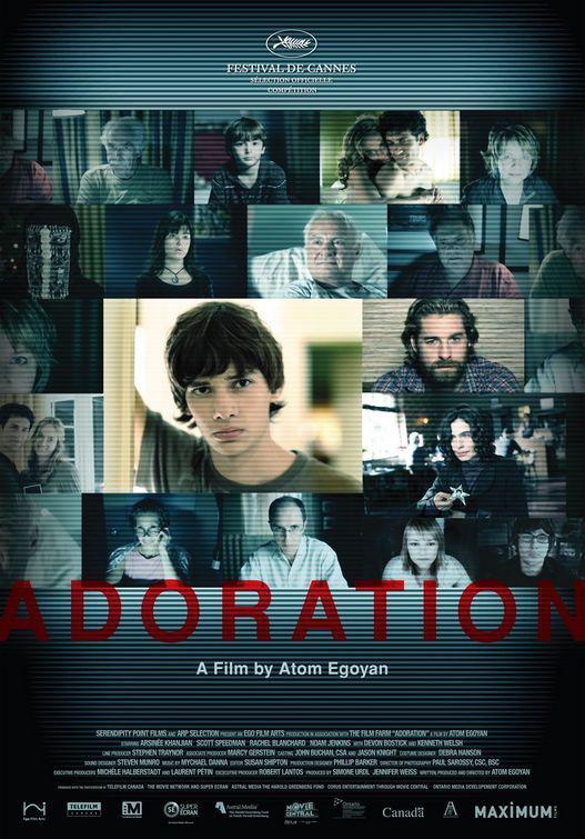 Adoration, 2007 movie, poster,